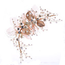 cheap Party Headpieces-Tulle / Imitation Pearl / Copper wire with Faux Pearl / Sashes / Ribbons 1pc Birthday Headpiece