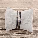 cheap Bracelets-Women's Leather Bracelet - Leather Infinity Classic Bracelet Black / Beige / Gray For Gift / Daily