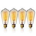 cheap Pendant Lights-KWB 1set 40W E26 / E27 ST64 Warm Yellow 2200k City View Incandescent Vintage Edison Light Bulb 220-240V