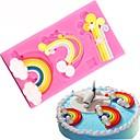 abordables Utensilios de Horno-Herramientas para hornear Silicona Cocina creativa Gadget / Manualidades Cupcake / Chocolate / para la torta Moldes para pasteles 1pc