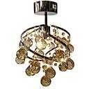billige Hengelamper-LightMyself™ Takplafond Omgivelseslys Krom Krystall Krystall, LED 110-120V / 220-240V Varm Hvit / Kald Hvit Pære Inkludert / E26 / E27