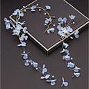 tanie Imprezowe nakrycia głowy-Stop Stroik z Kryształki / Sztuczna perła / Satynowy kwiatek 1 szt. Ślub / Impreza / bal Winieta
