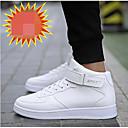 זול נעלי ספורט לגברים-בגדי ריקוד גברים נעלי נוחות PU אביב / סתיו נעלי ספורט לבן / שחור / אדום