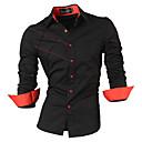 billige Dansetøj til børn-Herre-Ensfarvet Gade Skjorte