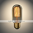 cheap Lighting Accessories-UMEI™ 1pc 40W E26/E27 T45 Warm White 2300 K Incandescent Vintage Edison Light Bulb AC 110-130V AC 220-240V V