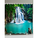 cheap Shower Curtains-Shower Curtains & Hooks Casual Country Polyester Novelty Machine Made Waterproof Bathroom