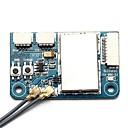 זול חלקים ואביזרים לצעצועים על שלט-FLYSKY X6B 2.4G 6CH i-BUS PPM PWM Receiver 1pc רסיבר מתכת