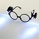tanie Nowoczesne oświetlenie-HKV 2szt Lupy Noc LED Light Zimna biel Zasilanie baterią guzikową Łatwe przenoszenie / z klipsem / Czytanie Książki Bateria Szczypce