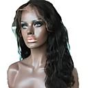 tanie Zestawy biżuterii-Nieprzetworzone / Włosy naturalne Koronkowy przód Peruka Włosy brazylijskie Falisty Peruka Środkowa cześć / Część boczna 130% Z Baby Hair / Naturalna linia włosów / Dla czarnoskórych kobiet Naturalna