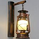 billige DVR-Sett-Anti-refleksjon Antikk / Vintage Baderomsbelysning Metall Vegglampe 220-240V 40W