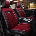 זול כיסויי למושבים לרכב-ODEER כיסויים שחור / אדום טֶקסטִיל עור PU נפוץ for אוניברסלי כל השנים כל הדגמים