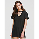 cheap Chandeliers-Women's Club Going out Holiday Street chic Sheath Dress - Solid Colored Black High Rise Mini