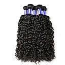 billige Syntetiske parykker-6 pakker Indisk hår Krøllet Ubehandlet hår Menneskehår Vevet / Hårpleie / Hairextensions med menneskehår Naturlig Farge Hårvever med menneskehår Myk / Hot Salg / Bekvem Hairextensions med menneskehår