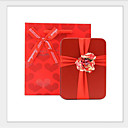 cheap Men's Accessories-Cube Tins Favor Holder with Sashes / Ribbons Favor Boxes - 10-Pack