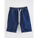 tanie Spodnie dla chłopców-Brzdąc Dla chłopców Podstawowy Jendolity kolor Bawełna Szorty