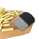 billige Køkkenrengøringsmidler-Køkken Tools Rustfrit stål Kreativ Køkkengadget Skæreredskab til grønsager / Kartoffel 1pc