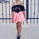 preiswerte Kleidersets für Mädchen-Mädchen Kleidungs Set Baumwolle Sommer Kurzarm Freizeit Schwarz