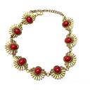 preiswerte Modische Halsketten-Halsketten - Retro, Böhmische, Boho Schwarz, Rot, Blau 40 cm Modische Halsketten Für Alltag, Party