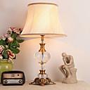 baratos Luminárias de Mesa-Rústico / Campestre Cristal / Decorativa Luminária de Mesa Para Metal 220-240V Amarelo