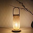 tanie Lampy stołowe-Rustykalny Dekoracyjna Lampa stołowa Na Drewno / Bambus 220-240V Drewno