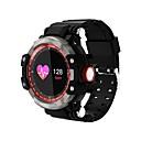 tanie Inteligentne zegarki-Inteligentny zegarek GW68 na Android 4.4 / iOS Spalone kalorie / Bluetooth / Wodoszczelny / Krokomierze / Kontrola APP Pulsometr / Krokomierz / Rejestrator aktywności fizycznej / Rejestrator snu