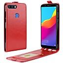 tanie Etui na telefony & Folie ochronne-Nillkin Kılıf Na Huawei Y9 (2018)(Enjoy 8 Plus) / Honor 9 Lite Etui na karty / Flip Pełne etui Solidne kolory Twardość Skóra PU na Honor 9 / Huawei Honor 9 Lite / Honor 7X