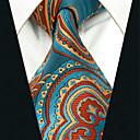 זול אביזרים לגברים-עניבת צווארון - גיאומטרי קולור בלוק סרוג מסיבה עבודה בגדי ריקוד גברים