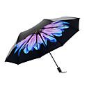 abordables Paraguas/Parasol-El plastico Mujer Soleado y lluvioso / A prueba de Viento / nuevo Paraguas de Doblar