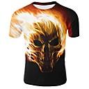 preiswerte Wand-Sticker-Herrn Einfarbig / Totenkopf Motiv - Totenkopf T-shirt Druck