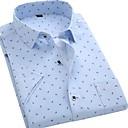 baratos Adesivos Decorativos para Automotivo-Homens Camisa Social Básico Geométrica