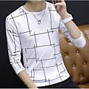 cheap Decorative Objects-Men's Basic Sweatshirt - Solid Colored Plaid