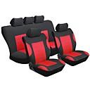 ieftine Husă Scaun Auto-Husă Scaun Auto Coperți pentru scaune Rosu textil Obișnuit for Παγκόσμιο Universal