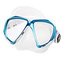 رخيصةأون نظارات وقاية-TUO قناع الغطس / نظارات السباحة ضد الضباب اثنين من النافذة - سباحة, غوص السليكون المطاط - إلى عن على بالغين أصفر / أحمر / أزرق