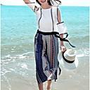 abordables Botas de Mujer-Mujer Boho / Tejido Oriental Conjunto - A Cuadros, Ahuecado Pantalón