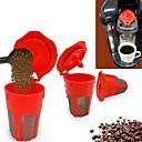 billige Kjøkkenredskap-Rustfritt Stål / Plast Kreativ Kjøkken Gadget 2pcs Tesil