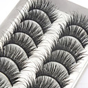 cheap Eyelashes-1 pcs lash False Eyelashes Professional Makeup Eye Professional / High Quality Daily Daily Makeup Volumized Natural Curly Cosmetic Grooming Supplies