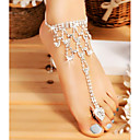 cheap Anklet-Anklet / Toe Ring Drop Simple, Fashion Women's Silver Body Jewelry For Wedding / Going out