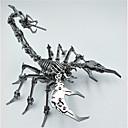 billige 3D-puslespill-3D-puslespill Skorpion Dyremønster Kreativ / Kul Rustfritt Stål Voksen / Teenager Gave