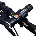 cheap Flashlights & Camping Lanterns-LED Flashlights / Torch / Front Bike Light / Headlight Dual LED Bike Light Cycling Portable, Adjustable, Quick Release 18650 1000 lm Chargeable / 18650 White Camping / Hiking / Caving / Cycling