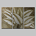tanie Obrazy: motyw roślinny/botaniczny-mintura® ręcznie malowany abstrakcyjny liść bananowy obraz olejny na płótnie nowoczesny obraz ścienny do dekoracji wnętrz gotowy do powieszenia