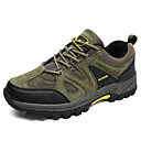 זול נעלי ספורט לגברים-בגדי ריקוד גברים עור נובוק חורף נוחות נעלי אתלטיקה טיפוס שחור / ירוק צבא