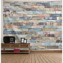 abordables Cuadros Abstractos-Arquitectura Decoración de la pared Poliéster Vintage Arte de la pared, Tapices de pared Decoración