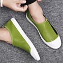 tanie Męskie mokasyny-Męskie Komfortowe buty Skóra Lato Mokasyny i buty wsuwane Biały / Czarny / Zielony