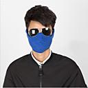 ieftine Măști Față-Face Mask Toate Sezoanele Keep Warm / Ciclism / Rezistent la Praf Camping & Drumeții / Exerciții exterior / Ciclism / Bicicletă Unisex Poliester tafta Mată