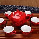 abordables Café y Té-7 PC Porcelana Juego de Té Resistente al calor ,  16*11;7.2*4.5cm