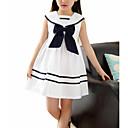 povoljno Haljine za djevojčice-Djeca Djevojčice slatko Color block Bez rukávů Haljina Obala 110