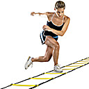 cheap Fitness Gear & Accessories-Speed Agility Ladder With 1 pcs Plastics 12 Rung Training Aids For Basketball / Football / Soccer / Running