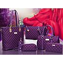cheap Bag Sets-Women's Bags Nylon Bag Set 6 Pieces Purse Set Zipper Red / Purple / Fuchsia