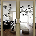 cheap Decorative Objects-Window Film & Stickers Decoration Lovely Character PVC Window Sticker Water-Repellent