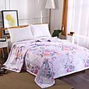 baratos Colchas e Acolchoados-Confortável - 1 Cobertura de Cama Verão Poliéster Floral